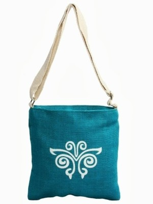 Jute Tree Eco Jolna Tote Blue available at Flipkart for Rs.300