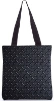 Snoogg Steel Texture Poly Canvas Tote Multicolor