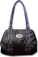 Fostelo Gul Leather Hand Bag Black