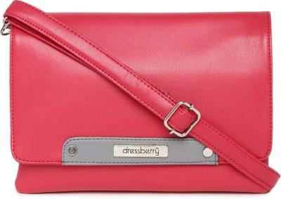 DressBerry Sling Bag (Pink) | ShopZoi
