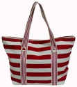 The Beach Company TBC/ACC/015 Hand Bag - Red::White