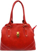 Leather Land Shoulder Bag Red