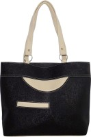 Vian Black Color Beautiful Women'ss Shoulder Bag Black