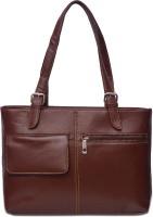 Arshia Formal With Front Pocket Handbag Hand-held Bag - Brown