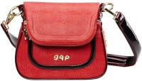 Gqp Accessories Valor Shoulder Bag (Red & Burgundy) Shoulder Bag - Red & Burgundy