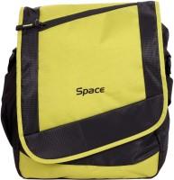 Space Messenger Bag Green Black