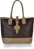 Alessia74 Hand-held Bag Dk Brown-Beige