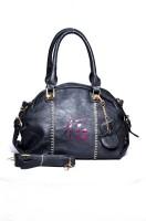 Senora Stylish Hand-held Bag - Black