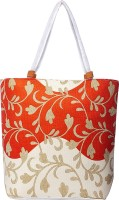 My Floral Tote Orange