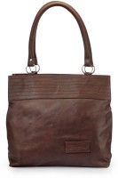 Frosty Fashion Stylish And Sleek FF0100835 Hand-held Bag Dark Brown-835