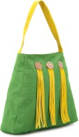 Earthen Me Hand-held Bag - Green