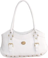 Meridian Dazzle Shoulder Bag (White)
