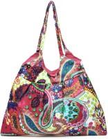 Kraftrush Printed Shoulder Bag - Pink-08