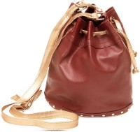 Sparkle Street Classic Carry All Hand-held Bag Brown, Gold