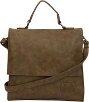 Thia Sling Bag Two Tone Light Brown