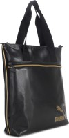 Puma Spirit Shopper Hand-held Bag Black, Gold