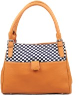 Bagsy Malone Check Patterned Hand-held Bag (Mustard)