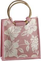 Aapno Rajasthan HoboPink Color Bag Of Recycled Natural Fibre Hand-held Bag Pink_45
