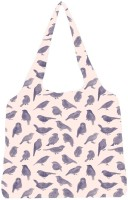 Snoogg Pigeon Paint Jhola Tote Multicolour