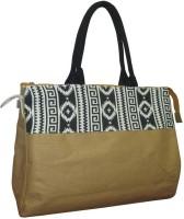 Earthbags Jute Hand-held Bag Gold