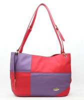 DHC Shopper Shoulder Bag - Pink & Purple