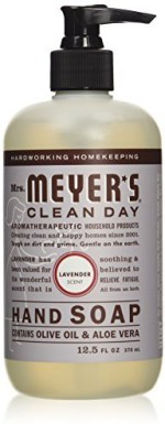 Mrs. Meyers Hand Washes and Sanitizers Mrs. Meyers liquid hand soap lavender