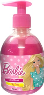 Barbie Hand Washes and Sanitizers Barbie Hand Wash Very Berry
