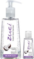 Zuci PACK OF 250 ML & 30 ML HAND SANITIZER- COCONUT VERBENA Hand Sanitizer (280 Ml)