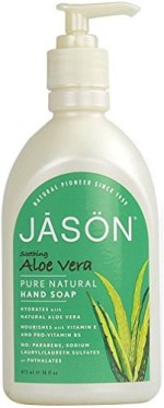 Jason Hand Washes and Sanitizers Jason soothing aloe vera pure natural hand soap