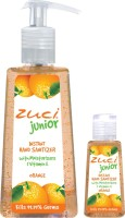 Zuci Pack Of 250 Ml & 30 Ml Hand Sanitizer- Orange Hand Sanitizer (280 Ml)