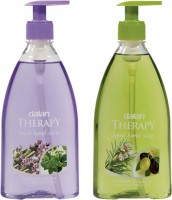 Dalan Therapy Liquid Soap Combo Pack Of Lavender & Thyme And Rosemary & Olive Oil Hand Wash (800 Ml)