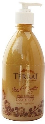 Terrai Natural Hand Washes and Sanitizers Terrai Natural Iced Coffee Liquid Soap