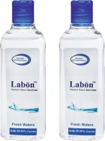 Labon Instant - Combo Pack Of 2 - 110 ML Fresh Waters (110 ML X 2 Packs) Hand Sanitizer (220 Ml)