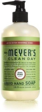 Mrs. Meyers Hand Washes and Sanitizers Mrs. Meyers liquid hand soap lowa pine