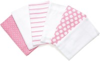 Mothercare By Kidskart Butterfly Muslins- Pack Of 6 Handkerchief (Pack Of 6)