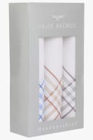 Park Avenue 60S X 60S White By Colour Handkerchief Pack Of 3
