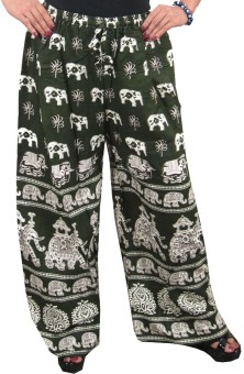 Indiatrendzs Animal Print Polyester Women's Harem Pants