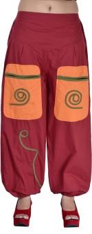 Indi Bargain Solid Cotton Women's Harem Pants - HARE6FWUP99PGABG