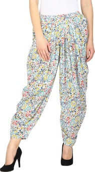 Ethnic Printed Cotton Women's Harem Pants