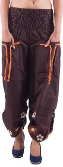 Indi Bargain Embroidered Cotton Women's Harem Pants - HARE5CXTAZJNCGGA