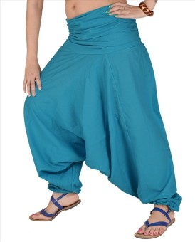 Skirts & Scarves Solid Cotton Women's Harem Pants