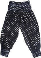 Sweet Angel Polka Print Cotton Girl's Harem Pants