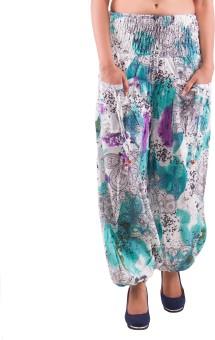 Indi Bargain Printed Cotton Women's Harem Pants - HARE5CXTBY4YNPU6