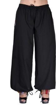 Indi Bargain Solid Cotton Women's Harem Pants - HARE6FWUDPHYJQBH