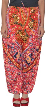 Pezzava Self Design Cotton Women's Harem Pants