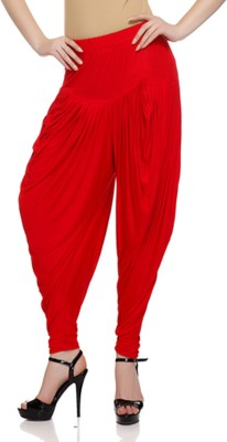 Buy Sakhi Sang Solid Viscose Women's Harem Pants: Harem Pant