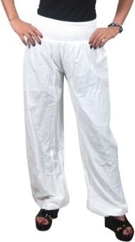 Indiatrendzs Solid Poly Cotton Women's Harem Pants