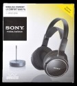 Sony MDR-RF810 Headphone - Black