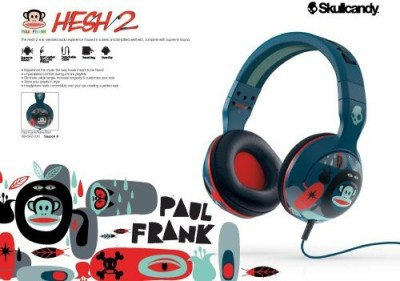 después del colegio Empeorando fantasma  Skullcandy Hesh 2 Over Ear Headphones In Paul Frank Navy/ Headphones (Blue)  | Kenyt
