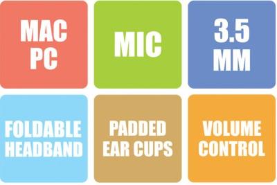 Zebronics Groove Wired Headphones